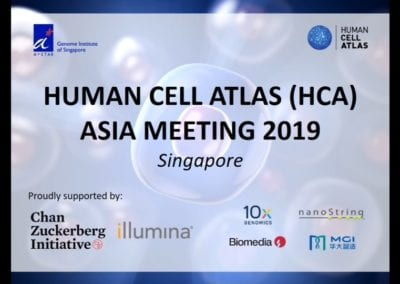 Human Cell Atlas (HCA) Asia Meeting 2019
