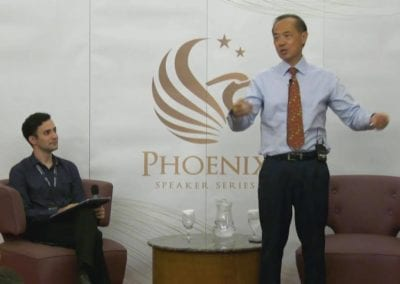 Mr George Yeo at Ministry of Home Affairs